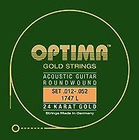 オプティマ(OPTIMA) アコースティックギター弦 24Kゴールド 1747.L