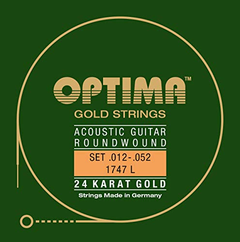 Optima 1747 L Acoustic GOLD Strings, light