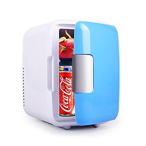 4l refrigerador de Coches Bajo Ruido Mini Auto Frigorífico Congelador Caja de refrigeración Alimento Fruta Almacenamiento Frigorífico Coche Pequeñas Nevera para casa al Aire Libre