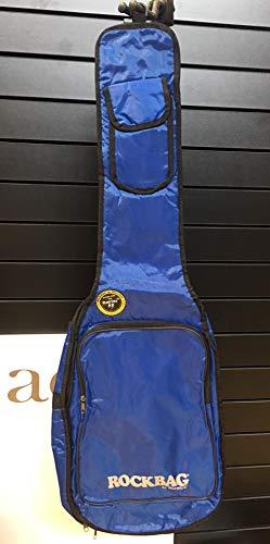 Rockbag tas voor elektrische gitaar - Basic Line - blauw/scheurvast en waterdicht