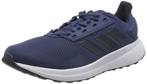 Adidas Duramo 9, Zapatillas para Correr Hombre, Azul (Tech Indigo/Legend Ink/FTWR White), 42 2/3 EU