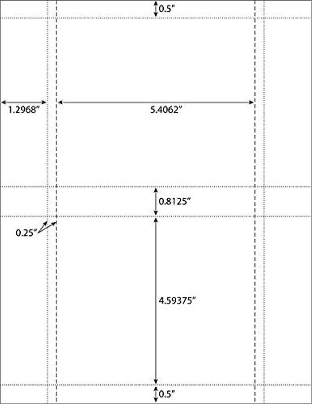 Back Tray Card Jewel Case Inserts Matte Finish 200-Pak (100 sheets)
