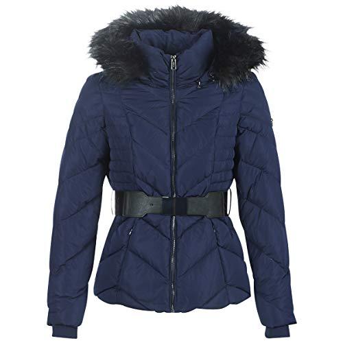 Guess Plumas Petra Down Jacket Azul para Mujer M Azul