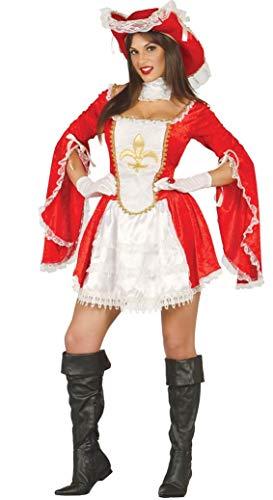 FIESTAS GUIRCA Disfraz de Mosquetero vigilando a la Mujer Rey