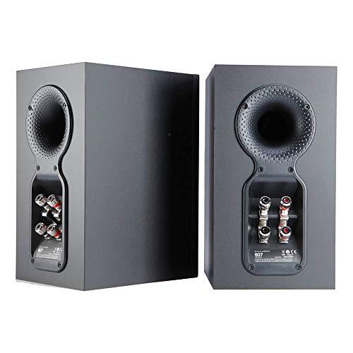 Cajas acústicas de estantería Bowers & Wilkins 607 Negro (2 Unidades)