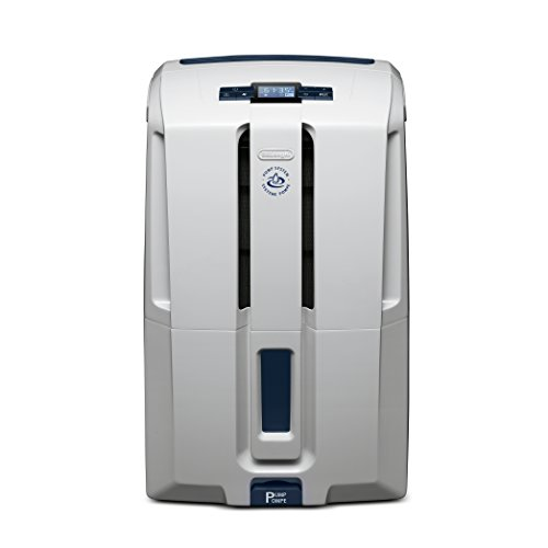DeLonghi Dehumidifier, 70 Pint, White