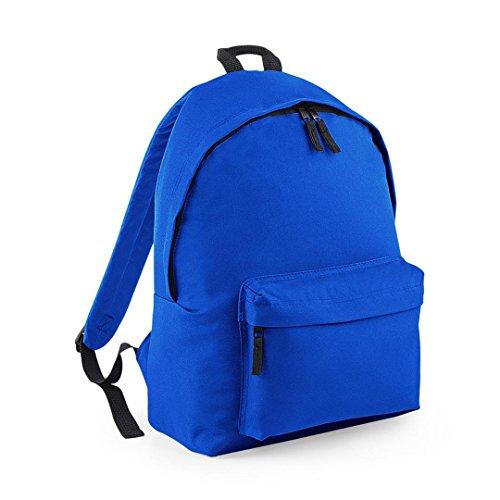 BagBase Unisex's B125JBROY Fashion Backpack, Bright Royal, Medium