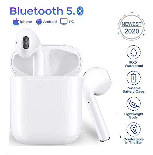 Écouteurs Bluetooth 5.0, avec réduction de Bruit,...