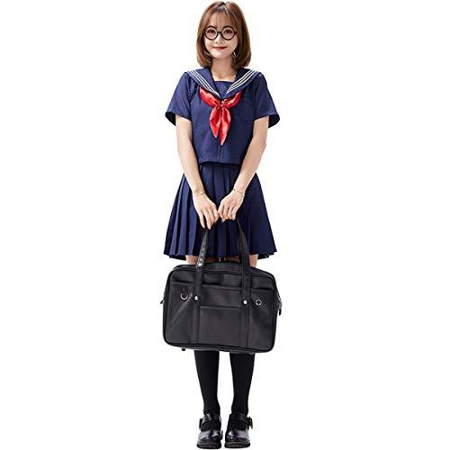 AYUSHOP Vestido de Mujer Uniformes de Estudiante Una Variedad de Uniformes Escolares y Uniformes de Clase en Stock, para Fancy Dress Party Club Carnival,S