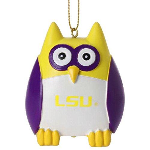 Memory Company NCAA Louisiana State University Col-LSU-1804Owl Ornament, Multi, One Size