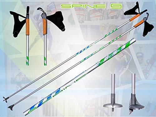 Spine X-Rider leichte Carbon Langlaufstöcke Skating Stöcke Skistöcke (160)
