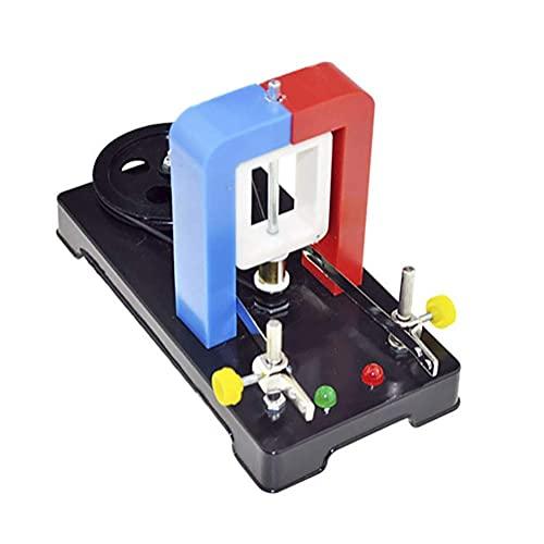 BJH Modelo de Ciencia educativa Generador de manivela científico Escuela Secundaria Física Equipo de Experimento electromagnético Modelo de Instrumento de enseñanza Ayuda didáctica