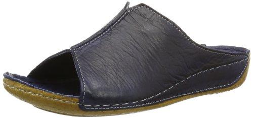 Andrea Conti Damen 0027423 Pantoletten, Blau (dunkelblau 017), 40 EU