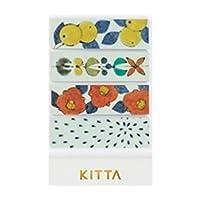 キングジム マスキングテープ ちいさく持てる KITTA キッタ トウキ KITH004 【× 2 個 】