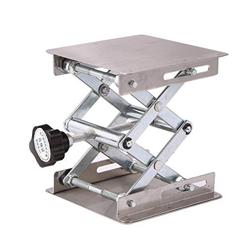 JCMY DIY-Werkzeuge Aluminium Router Hubtisch Holzbe- Engraving Lab Hebestand-Zahnstange Holzbearbeitung Bänke Hubplattform Für Dekoration