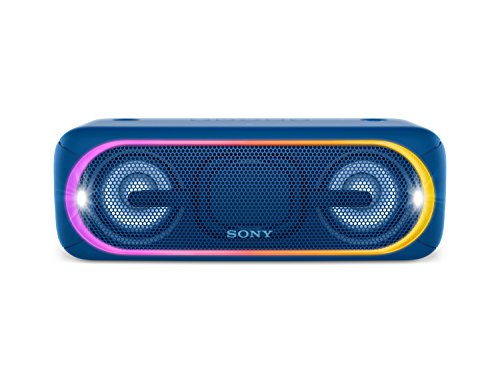 Sony SRS-XB40L - Altavoz inalámbrico portátil con Bluetooth y Extra Bass, Azul