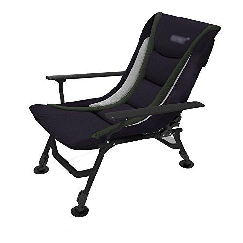 Tuinstoel kantelbaar strandstoel Sun Lounger klapstoel multifunctioneel zwart Een