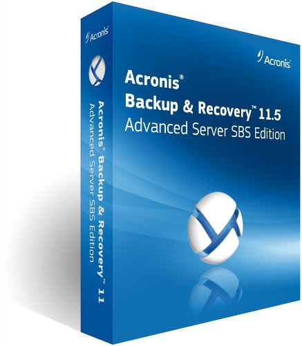 Acronis Backup & Recovery 11.5 Advanced Server SBS Edition with Universal Restore incl. AAP BOX