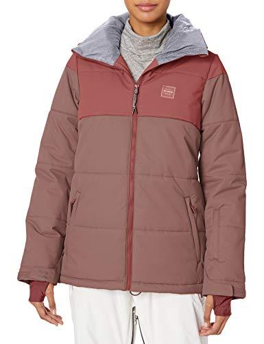 BILLABONG Damen Down Rider Snowboard Jacket Isolierte Jacke, Vintage Pflaume, X-Klein