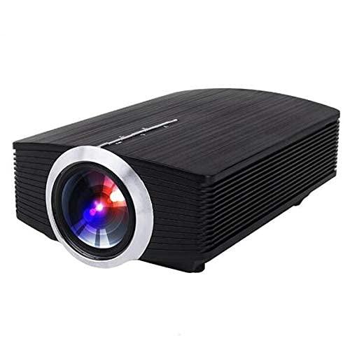 Smart Projector Multifunción Movie TV Show Video Game Home Cinema Proyector, la Misma Pantalla de teléfono móvil, LED HD 1080p