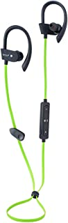 Wireless Bluetooth Earbuds Headphones Waterproof in Ear Flexible Earphone EarPlug Noise Cancelling Sport Headsets Compatible iPhone iPad Android Smart Bluetooth Device - Yellow