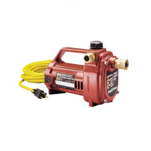 Liberty Pumps 331 Portable Transfer Pump, one-size, RED