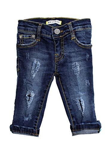 Iceberg Jeans Bimbo PTICE2104B blu Con Strappi PE20 9 M