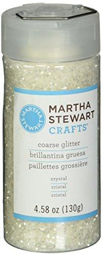 Martha Stewart Coarse Glitter, Crystal, 4.58 Ounces