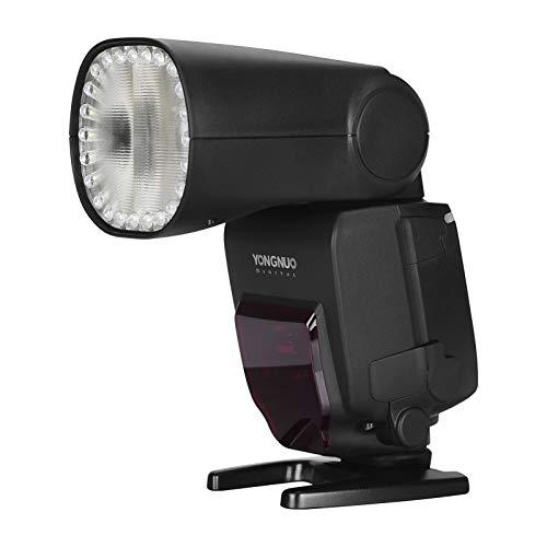 Yongnuo YN650EX-RF Canon Fotocamera Flash Speedlite ETTL Speedlight Built-in 2.4G Wireless 1 / 8000s Sincronizzazione ad alta velocità con display LCD Sostituzione slitta per fotocamera Canon
