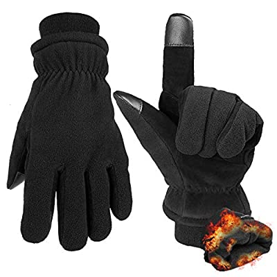 Winter Gloves with Touchscreen Finger -30 ? Cold Thermal Glove for Men and Women XXL