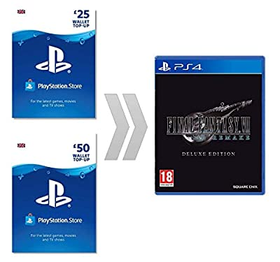 PSN Currency for FINAL FANTASY VII REMAKE 74.99 GBP | PS4 Download Code - UK account