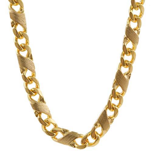 3,7 mm 45 cm 585-14 Karat Gelbgold Dollar Kette massiv Gold hochwertige Halskette 20,7 g
