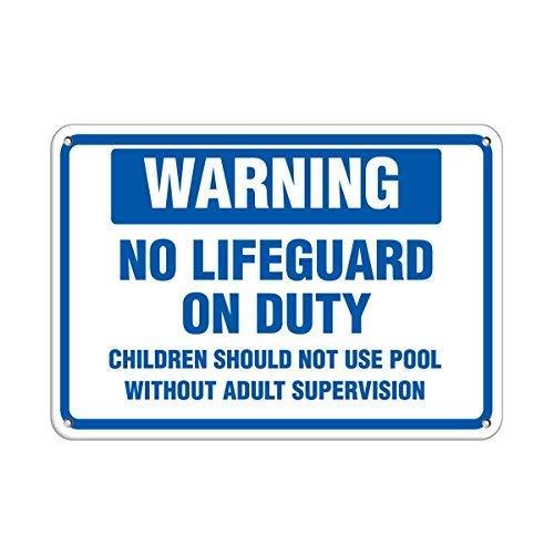 Warnschild Lifeguard Children