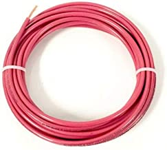 JumpingLight 25 FEET THHN THWN-2 8 AWG Gauge RED Stranded Copper Building Wire VW-1 Cables Electronic Stranded Wire Cable Electrics DIY