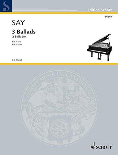 3 Balladen: op. 12. Klavier. (Edition Schott)