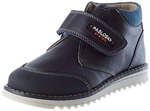 Pablosky 089723, Chaussure Bateau Bébé garçon, Bleu, 20 EU