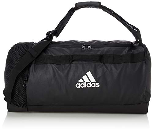 adidas 4ATHLTS ID DU M Gym Bag, Black/Black/White, NS