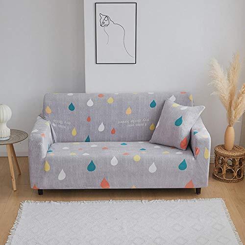 Allenger Funda de sofá Elastica,Funda de sofá Acolchada de Felpa de otoño e Invierno, Funda de sofá elástica Antideslizante, Funda de protección de Muebles con Todo incluido-10_235-300cm