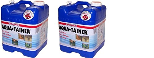 Reliance Products Aqua-Tainer 7 Gallon Rigid Water Container (2:PACK)