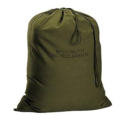 "Rothco G.I. Type Canvas Barracks Bag, 18"" x 27"", Olive Drab"