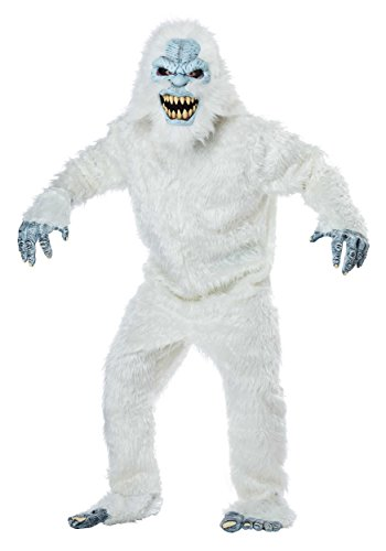 California Costumes Men's Snow Beast-Adult Costume, White/Blue, ONE Size