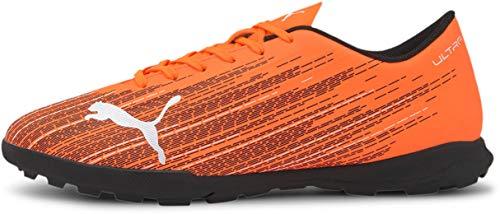 PUMA mens Ultra 4 Soccer Shoe, Shocking Orange-puma Black, 11 US