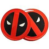 Funko DP03894 Star Wars Deadpool Round Icons Plate Set, Melamine, Multi-Colour, 21 x 21 x 2 cm