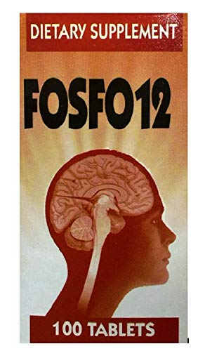 FOSFO12 100 Tablets Dietary Supplement