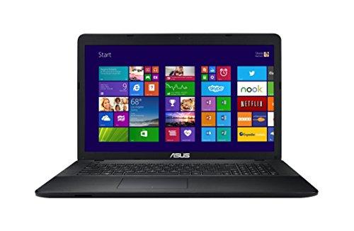 Asus F751LDV-T4182H 43,9 cm (17,3 Zoll) Laptop (Intel Core i5 4210U, 1,7GHz, 8GB RAM, 1TB HDD, NVIDIA GeForce 820M, DVD, Win 8) schwarz