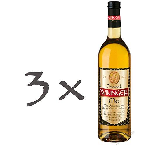 Original Wikinger Met 3 x 0,75 Liter
