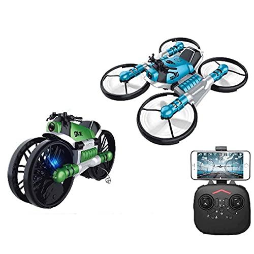 JJDSN Mini dron para niños para Principiantes y Adultos, avión cuadricóptero de Juguete RC para Interiores y Exteriores para niños y niñas con Desplazamiento automático, Giro 3D, Modo sin Cabeza,