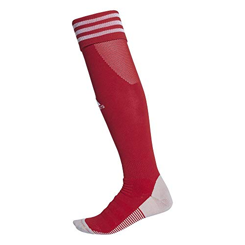 adidas ADI SOCK 18 Socks, Unisex adulto, Power Red/White, 3739