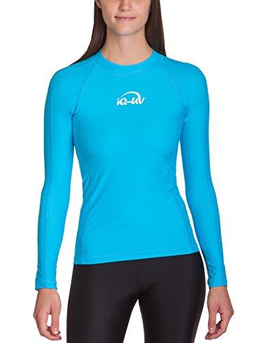 IQ UV Schutz Shirt Damen UV-Schutz Schwimmen Tauchen, türkis (Turquoise), M