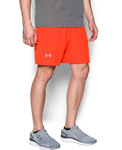 Under Armour Herren Speed Stride 7In Woven Shorts Kurze Hose, Phoenix Fire, S